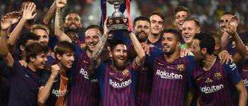 مسی پر افتخارترین بازیکن سوپر جام اسپانیا